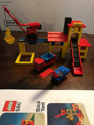 LEGO Classic Sets: 580 and 590 from 1970's plus 6687 from 1980's - INCOMPLETE