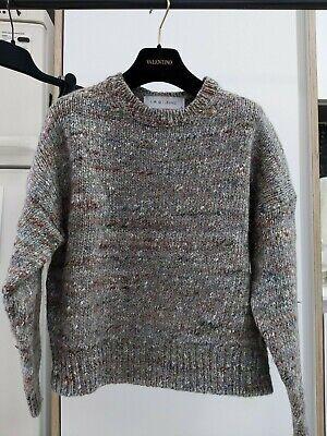 Iro Marled Heavy Silk Wool Jumper szS/UK8/EU36