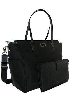 - Kate Spade Logo Diaper Baby Bag & Changing Pad 2 Piece Set Stroller Strap NWT
