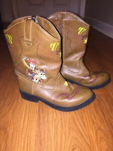 Toy Story light up cowboy boots