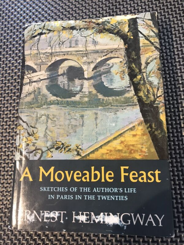 A MOVEABLE FEAST, Ernest Hemingway, 1st Ed. 1st Print, 1964, Charles Scribner