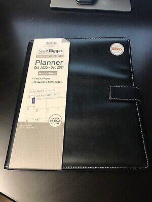 See It Bigger 2021 Monthly Weekly Planner Wbinder - Bonus Months