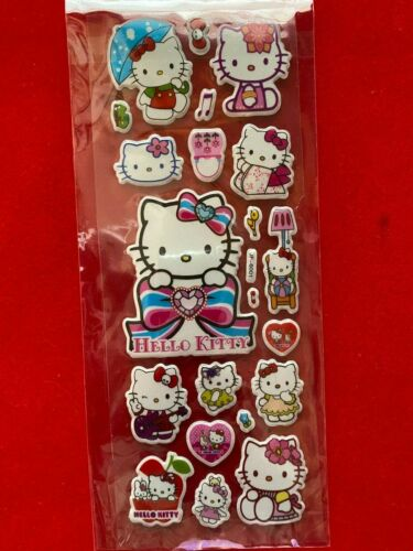 HELLO KITTY New In Package Stickers FREE SHIP! (H)