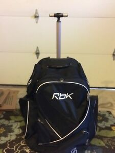 RBK Hockey bag - backpack with wheels