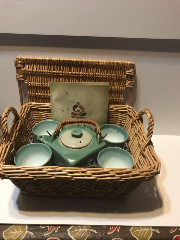 teavana teapot set