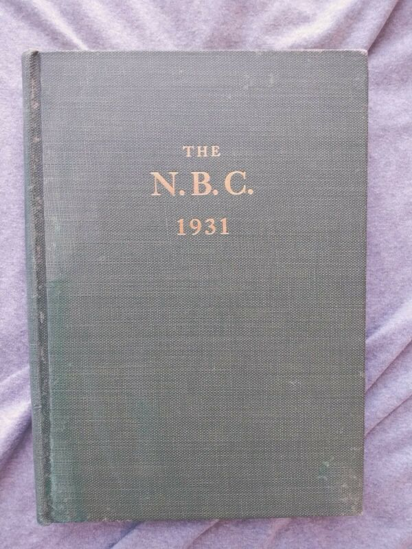 1931 NATIONAL BISCUIT COMPANY RARE GREEN BOOK. N.B.C. Nabisco Sales Book