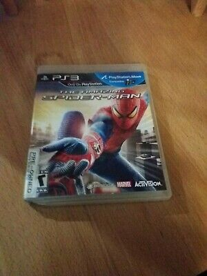 PS3 The Amazing Spider-Man - Tested and Clean Ships fast