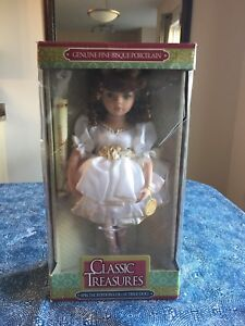 Classic Treasures Porcelain Doll