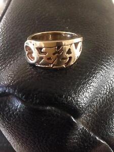 9ct solid gold ring OZZY  21 grams Bunbury Bunbury Area Preview