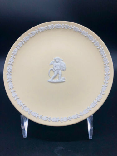 Vintage Rare Wedgwood Autumn Primrose on White Collectors Plate Signed Numbered