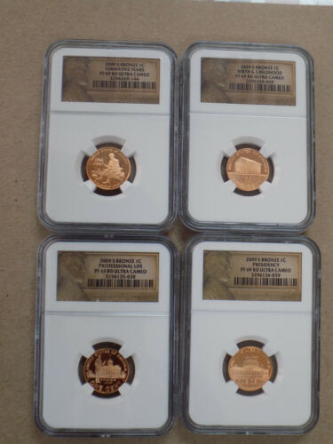 2009 1C LINCOLN CENT PENNY PROOF SET NGC PF69