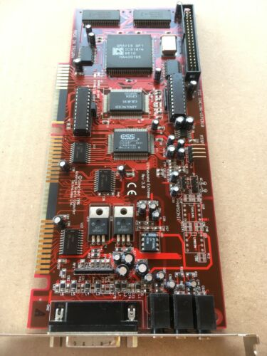 RARE Gravis Ultrasound Extreme 1MB WaveTable MIDI Vintage ISA Sound Music Card