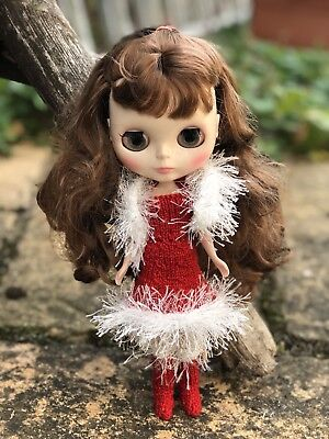 blythe doll clothes Xmas Outfit