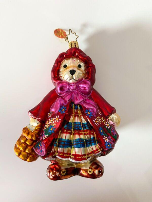 "Radko 2004 Muffy Vanderbear ""Little Red Riding Hood"" #1018252"