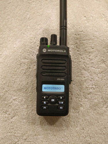 Motorola MotoTRBO XPR3500E Maxed Out UHF Great Condition R02.09 NO CPS 2.0!