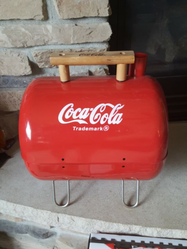 Coca Cola Portable Charcoal Grill