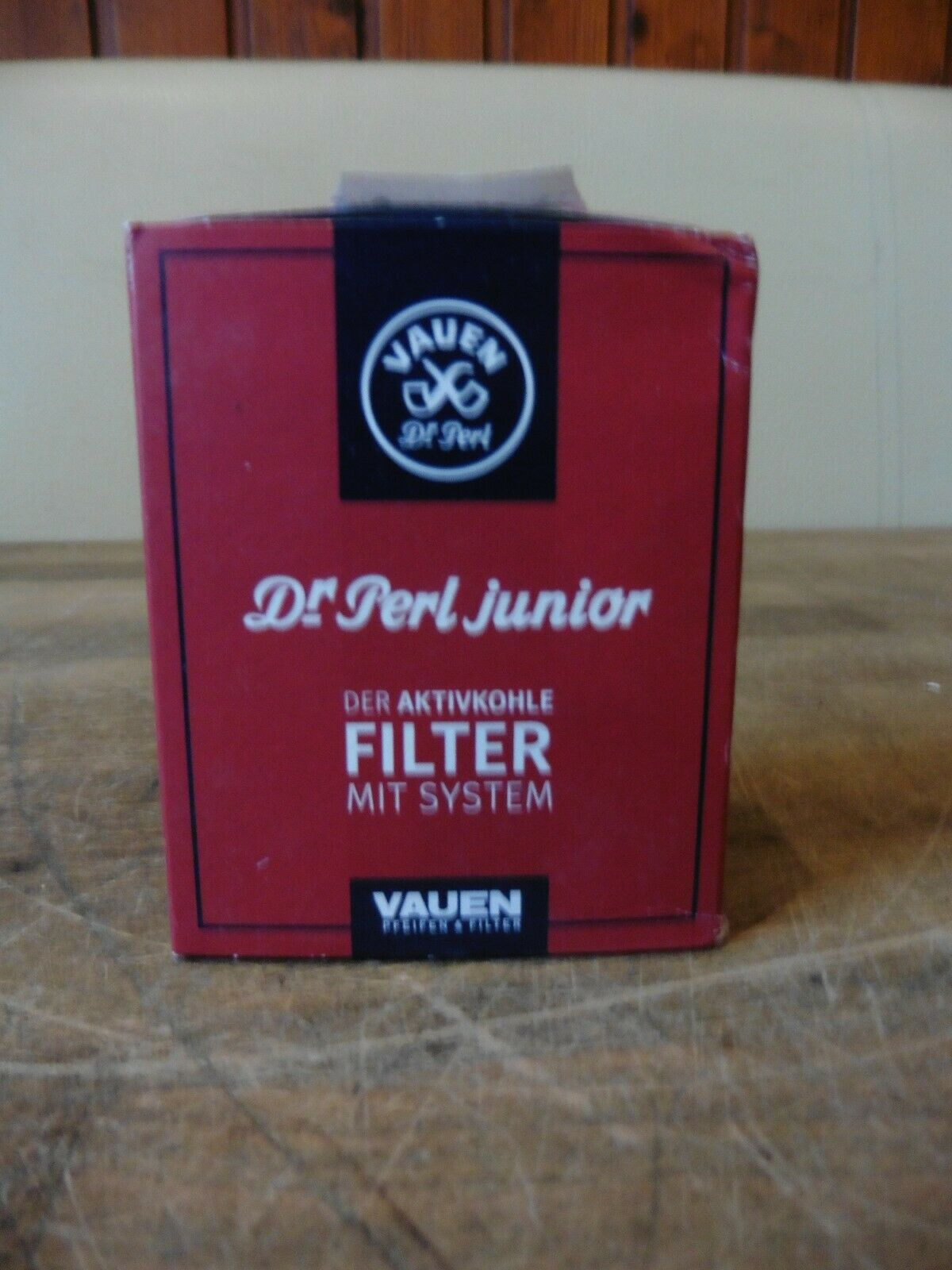 Vauen Dr. Perl Filter Junior Aktivkohlefilter  1 x 40 Stück Filter / 9 mm NEU