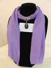 Scarf New Vintage Style with Gemstone pendant. Ramornie Clarence Valley Preview