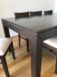 8 Seat Dining Table, Chairs & Sideboard
