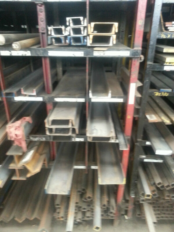 "Grade A36 Hot Rolled Steel Channel - 8"" x 11.5#/ft x 48"""