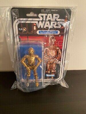 Star Wars Black Series 6 Inch 40TH Anniversary C-3PO Collector's Grade Figure