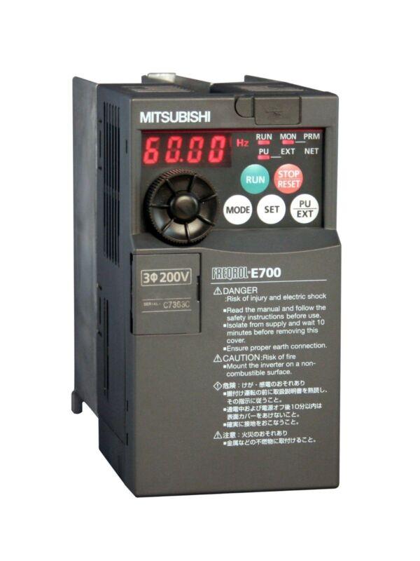 15hp 230v 3-phase Mitsubishi E700 Vfd Drive Fr-e720-470sc-na Fre720470scna