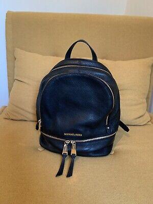 Michael kors Rhea Backpack Black Leather