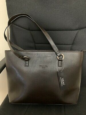 Prada Brown Handbag Purse In Excellent Condition Shipped Super Fast!