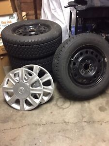 4 Arctic Claw R16 225/60 Winter Tires on Rims