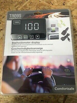 TREBS Geschwindigkeitsanzeige Head Up Display 12V HUD via GPS  NEU!!! Geschwindigkeit Anzeige
