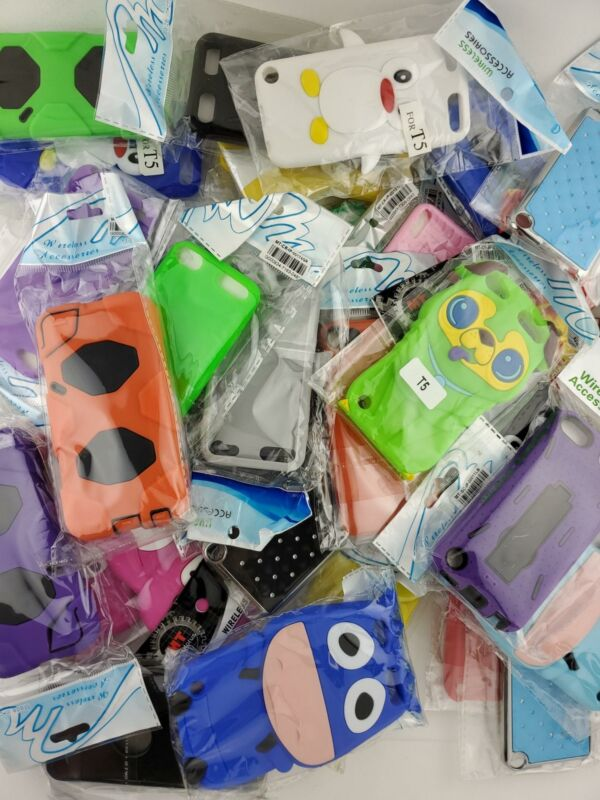 Wholesale Bulk Lot of 25 Ipod Touch 5/6 Cases Covers Skins