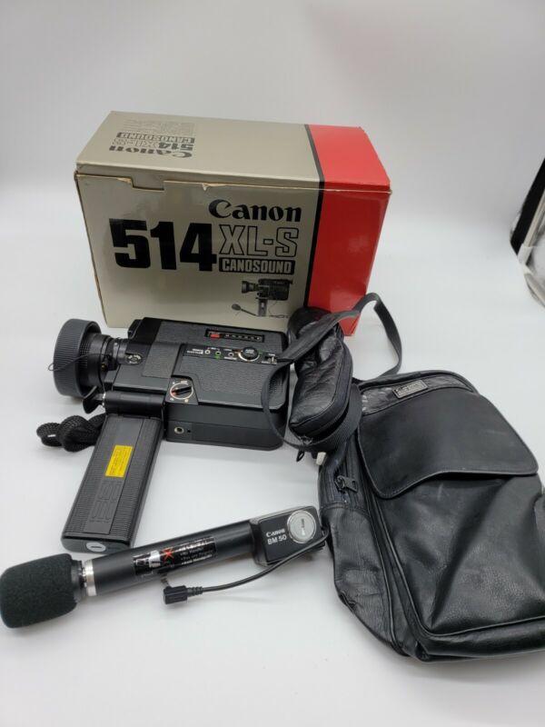 Canon Canosound 514XL-S Super 8 Film Camerain Box
