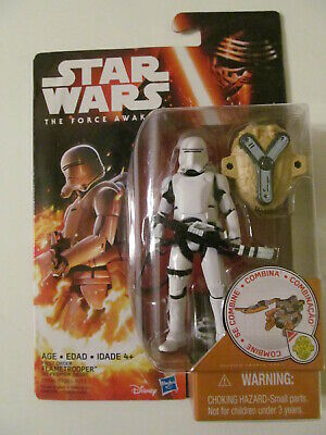 "Star Wars: The Force Awakens 3.75"" - First Order Flametrooper - Light Wear"