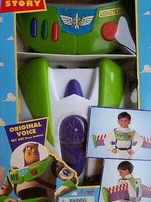 Disney Pixar Toy Story Buzz Lightyear Dress up Costume Set Thinkway Toys 1995  ()