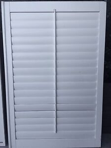 Timber window  louvres - 1500mm x 990mm - slats  open & shut Yowie Bay Sutherland Area Preview
