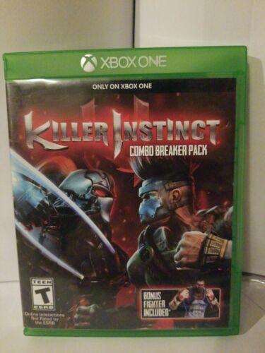 Killer Instinct Combo Breaker Pack Microsoft Xbox One, 2014  - $17.49
