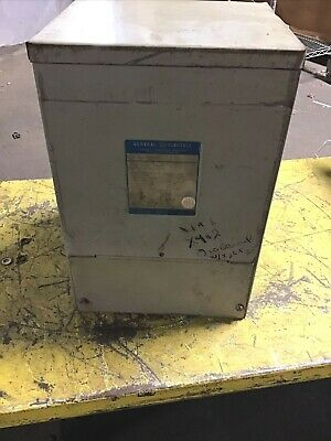 General Electric 9t21b1006c02 Transformer Type Qms 240480 10kva 1phase