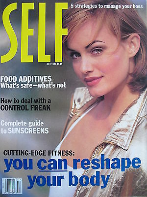 Amber Valletta  July 1992 Self Magazine