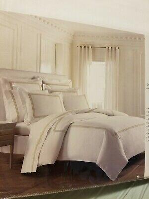 Kassatex Strada Bedding Collection Full/Queen Duvet, Mink