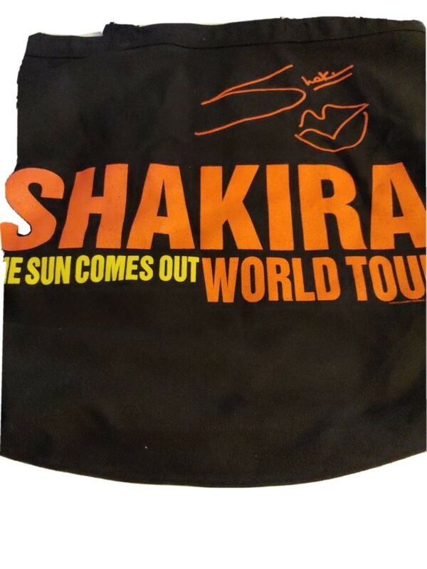 Shakira The Sun Comes Out World Tour Tote Bag