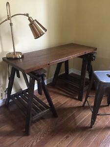 Saw Horse Desk