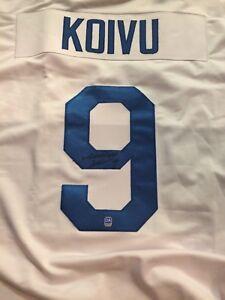 Mikko Koivu autographed Finland jersey