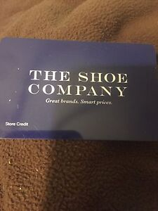 The Shoe Company Gift Card