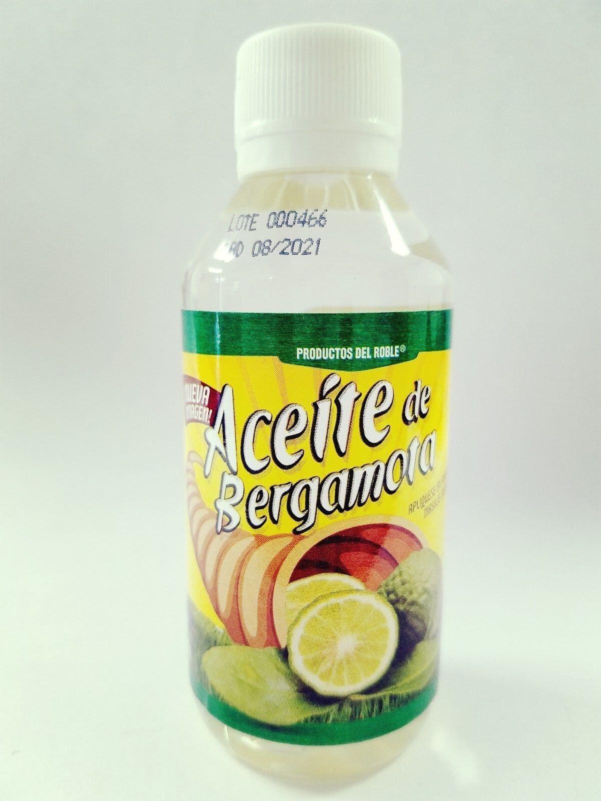 ACEITE DE BERGAMOTA 100% NATURAL BERGAMOT oil BEARD HAIR MUSTACHE MASSAGE masaje