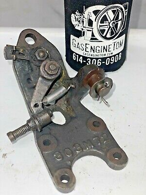 303m72 Webster Magneto Igniter Bracket 1-12hp Nelson Brothers Hit Miss Engine