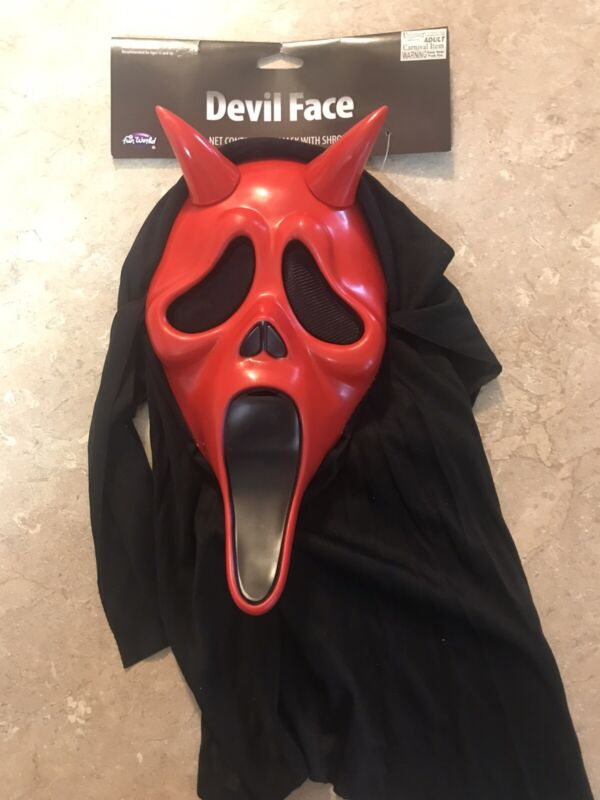 Ghostface Scream Easter Unlimited Devil Face Mask