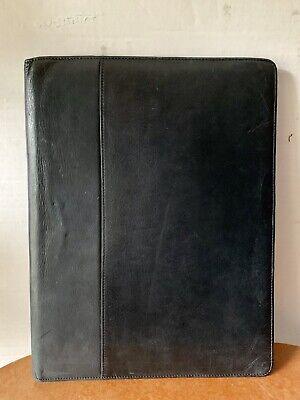 Vintage Boulder Ridge Black Soft Leather Planner