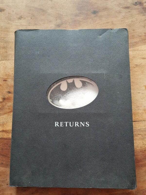 Batman Returns Tim Burton Film Press Kit Full Set 1992