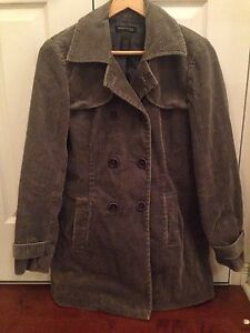 Kenneth Cole New York cord trench coat - sz 4
