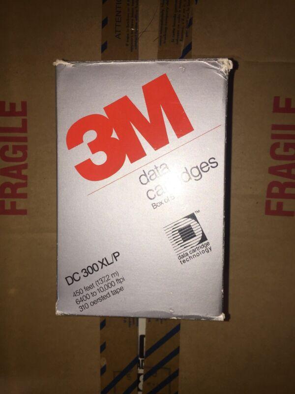 Box of 5 3M DC 300XL/P Vintage Data Cartridges - 450